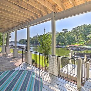 Grand Waterfront Retreat With Dock And Game Room! photos Exterior