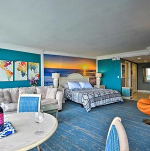 Colorful Ocean-View Studio Steps From Beach! photos Exterior