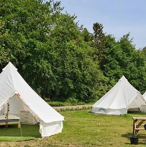 The Elm Tent 4 Persons Glamping In Woodlands photos Exterior