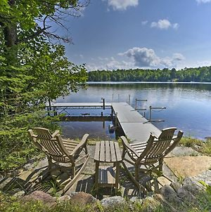 Stunning Presque Isle Home Deck And Boat Dock photos Exterior