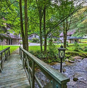 Chalet Retreat Cozy Cabin With On-Site Creek! photos Exterior