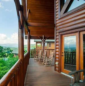 Above It All With Mountain Views, Hot Tub And Theater Room photos Exterior
