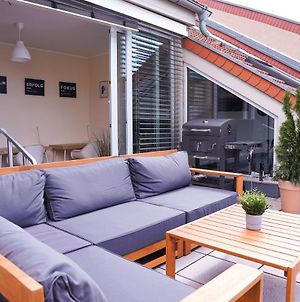 Full House Premium Apartments - Halle Rooftop - Homeoffice, Bbq, Ntflx Inkl. photos Exterior