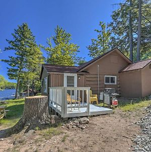 Rustic Cabin Living With Dock On Squirrel Lake! photos Exterior