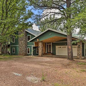 Family-Friendly Pinetop Retreat Deck And Yard! photos Exterior