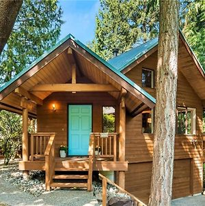 Large Cabin Style Home With Hot Tub, Sauna, King Bed, Free Parking photos Exterior