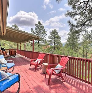 Strawberry Hideaway In The Pines With Hot Tub! photos Exterior