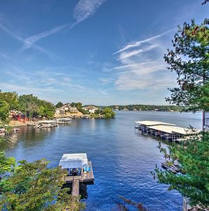 Lake Ozark Waterfront Home With Private Dock! photos Exterior