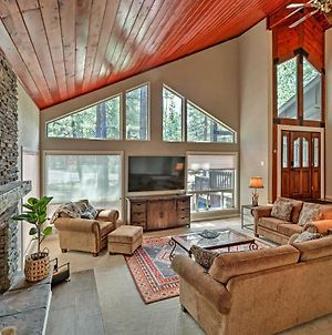 Pinetop Cabin With Fireplace, About 1 Mi To Golf! photos Exterior