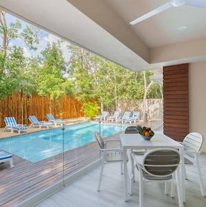 New Jungle Apt With Rooftop & Pool Near The Beach photos Exterior