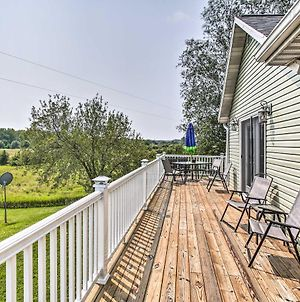 Lakefront Scottville House With Deck And Big Yard photos Exterior