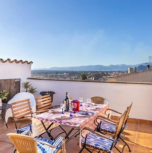 Mallorca Traditional Townhouse Holiday In Llubi - A20767 photos Exterior