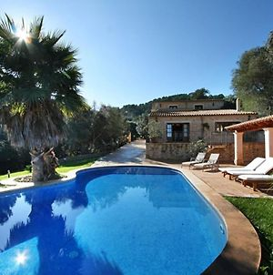 Typical Majorcan House With Private Pool, Near The Town Of Petra photos Exterior