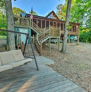 Lakefront Toledo Bend Cabin With Dock And Grill! photos Exterior