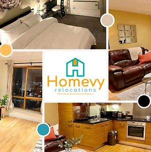 1 Bedroom Apartment By Homevy Relocations Short Lets & Serviced Accommodation Leeds Dock - Stylish And Convenient photos Exterior