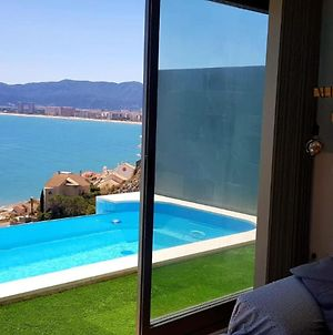 Villa With 3 Bedrooms In Faro De Cullera With Wonderful Sea View Private Pool Enclosed Garden 500 M From The Beach photos Exterior