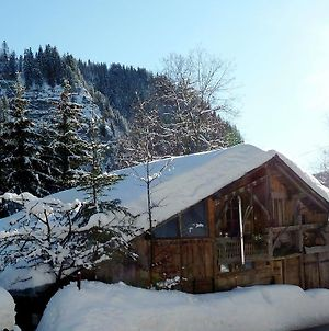 Wooden Chalet In The Alpine Commune Of Taninges photos Exterior