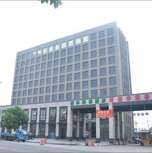 Greentree Inn Jiangsu Wuxi Guangrui Road Dongfeng Bridge Business Hotel photos Exterior