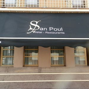 Hostal Restaurante San Poul photos Exterior