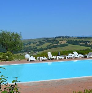 Luxurious Holiday Home With Hill View In Asciano Tuscany photos Exterior