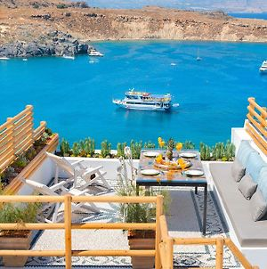 Lindos Shore Summer House With Jacuzzi And Sea View !!! photos Exterior