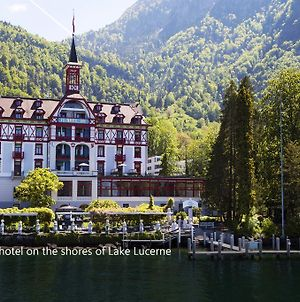 Hotel Vitznauerhof - Lifestyle Hideaway At Lake Lucerne photos Exterior