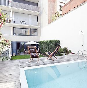 Apartment Barcelona Rentals - Private Pool And Garden Center photos Exterior