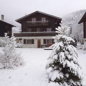 Elegant Chalet In Fieschertal Near Forest photos Exterior