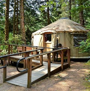 South Jetty Camping Resort Wheelchair Accessible Yurt 3 photos Exterior