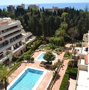 Spacious 3 Bedroom Apartment On The Second Line From The Beach In The Center Of Marbella In The Parque Marbella Building. photos Exterior