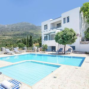 Modern Villa In Lefkogia Crete With Swimming Pool photos Exterior