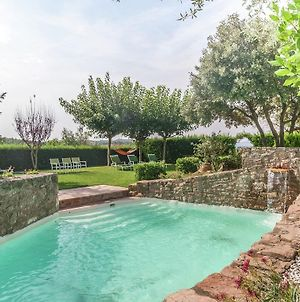 Vintage Mansion With Swimming Pool In Montmajor Spain photos Exterior