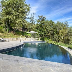 Scenic Farmhouse In Poppi With Swimming Pool photos Exterior