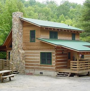 Bear Creek - Secluded Log Cabin Overlooking Creek - Near Boone, Nc photos Exterior