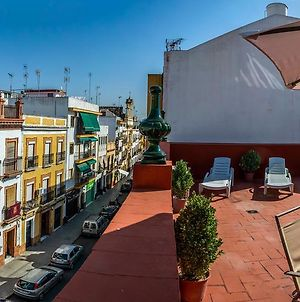 Descubrehome Pureza Triana Penthouse, Terraza Privada photos Exterior