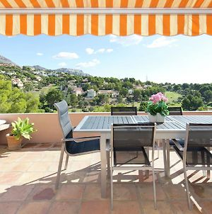 Quaint Apartment In Altea La Vella With Common Pool photos Exterior