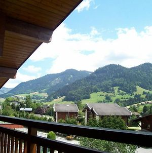 Studio In Praz Sur Arly With Wonderful Mountain View And Enclosed Garden 500 M From The Slopes photos Exterior