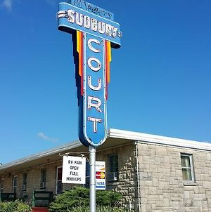 Sudbury Court Motel And Rv Park photos Exterior