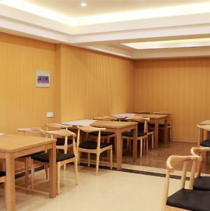 Greentree Inn Anhui Fuyang Yingzhou District Positive Base Capital Business Hotel photos Exterior