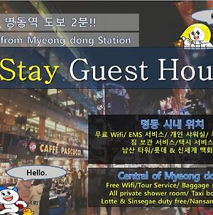 K Stay Guesthouse Myeongdong First photos Exterior