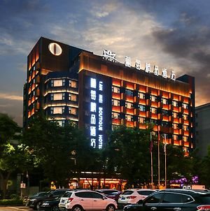Lanmei Boutique Hotel West Station Branch Lanzhou photos Exterior