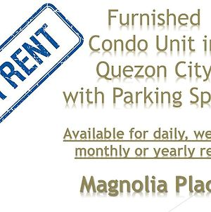 Family Condo Unit In Quezon City photos Exterior