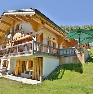 Luxurious Chalet In Le Chinaillon With Sauna photos Exterior