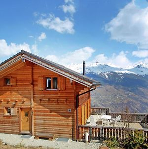 Chalet With Scenic View Of Mountains In Les Collons photos Exterior