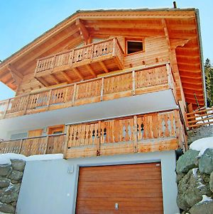 Stunning Mountain View Chalet And Jacuzzi In Les Collons photos Exterior