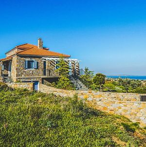 Rustic Stone Villa Overlooking Moudros And Diapori photos Exterior