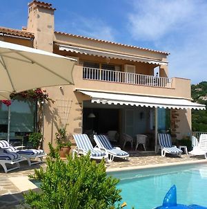 Villa With 4 Bedrooms In La Croix Valmer With Wonderful Sea View Private Pool Enclosed Garden 2 Km From The Beach photos Exterior