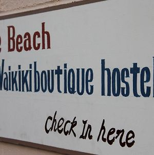 The Beach Waikiki Boutique Hostel photos Exterior