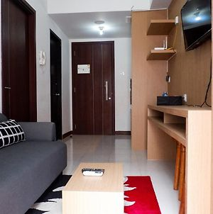 Cozy 1Br Scientia Residence Apartment Near Summarecon Mall Gading Serpong By Travelio photos Exterior