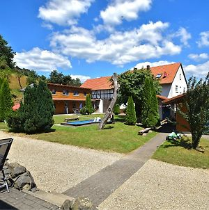 Combined Flat On A Farm In Kellerwald-Edersee National Park photos Exterior